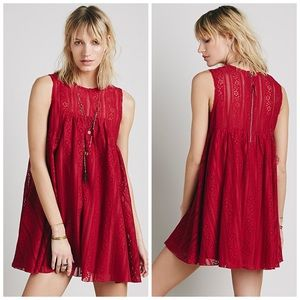 Free People Tu Es La Mini Dress
